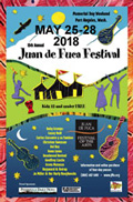 22th Annual Juan de Fuca Festival of the Arts May 22-25, 2015