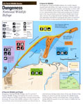 Map of Dungeness Natl Wildlife Refuge